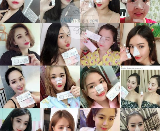 Review ủ mụn ohio hangul bye bye blackhead